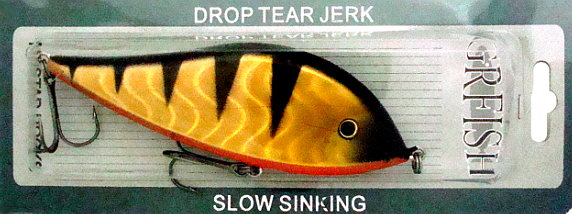 Приманки GRFISH Воблер Drop Tear Jerk  DTJB-140