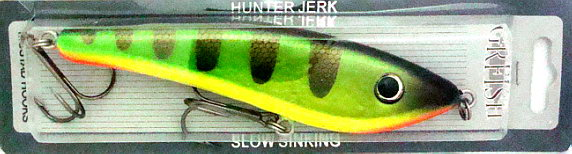 Приманки GRFISH Воблер Hunter Jerk   HJB-160