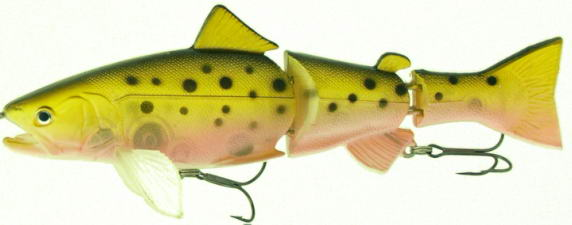 Приманки GRFISH Воблер Live Trout Swimbait 140mm/32g LTSB-140