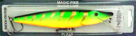 Приманки GRFISH Воблер Magic Pike  MPB-160