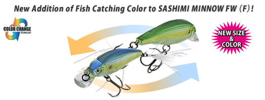 SASHIMI MINNOW FW (F) (WITH FEATHER)
